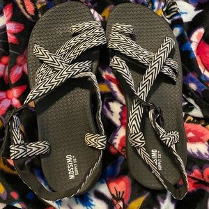 Target brand Chaco-style sandals NWOT